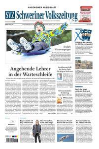 Schweriner Volkszeitung Hagenower Kreisblatt - 19. Januar 2019