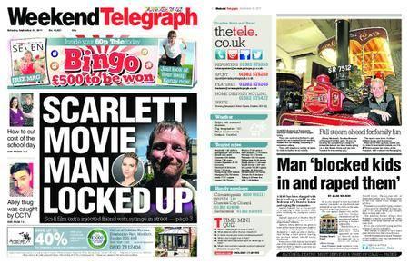 Evening Telegraph First Edition – September 30, 2017
