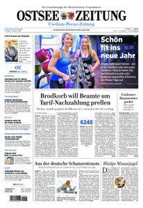 Ostsee Zeitung Wolgast - 05. Januar 2018