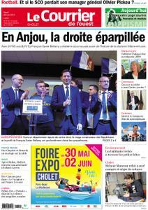 Le Courrier de l'Ouest Cholet – 28 mai 2019