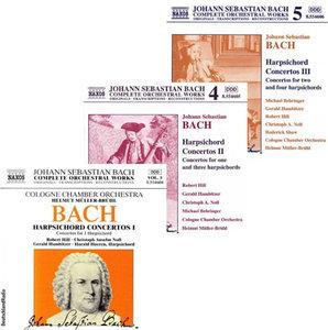 Bach - Harpsichord Concertos  (Helmut Müller-Brühl, Robert Hill) [1999]
