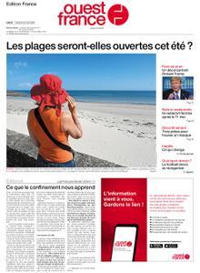 Ouest-France Édition France – 25 avril 2020