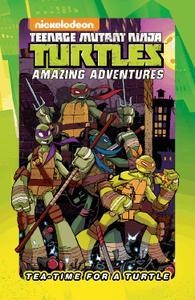 IDW-Teenage Mutant Ninja Turtles Tea Time For A Turtle 2020 Hybrid Comic eBook