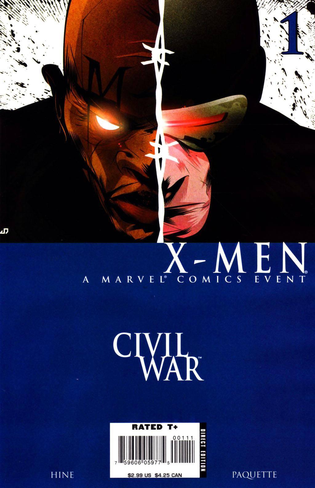 Civil War - X-Men 01