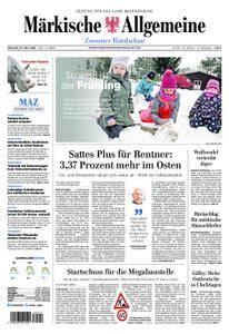 Märkische Allgemeine Zossener Rundschau - 21. März 2018