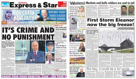 Express and Star Sandwell Edition – January 06, 2018