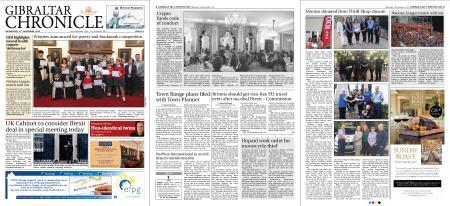 Gibraltar Chronicle – 14 November 2018