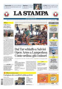 La Stampa Torino Provincia e Canavese - 15 Agosto 2019