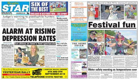 Shropshire Star Shrewsbury Edition – June 25, 2018