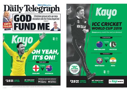The Daily Telegraph (Sydney) – June 25, 2019