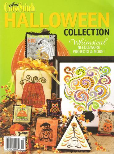 Just Cross Stitch - Halloween Collection Book 2011