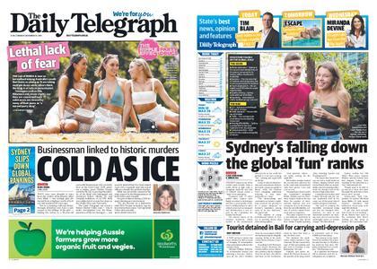 The Daily Telegraph (Sydney) – November 25, 2019