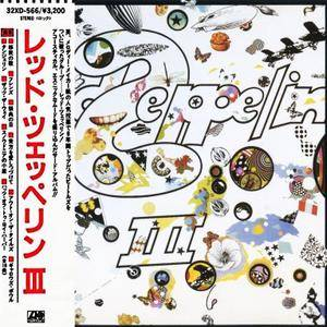 Led Zeppelin - Led Zeppelin III (1970) [32XD-566, Japan 1st Press, 1987]