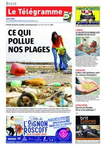 Le Télégramme Brest Abers Iroise – 16 août 2019