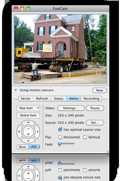 EvoCam v3.7.5 Mac OS X