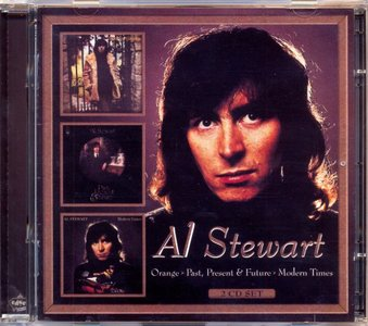 Al Stewart - Orange (1972) + Past, Present & Future (1973) + Modern Times (1975) [3LP on 2 CD, 2004]