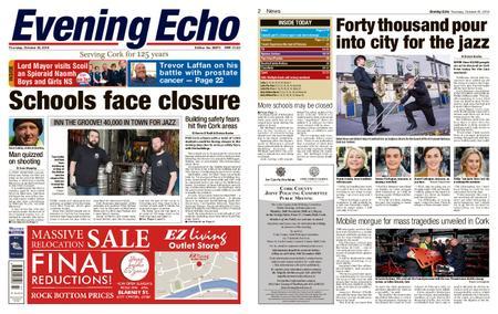 Evening Echo – October 25, 2018