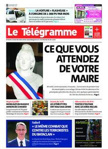 Le Télégramme Brest – 16 décembre 2019