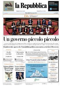 la Repubblica - 20 Gennaio 2021