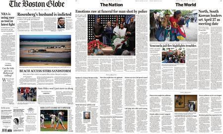 The Boston Globe – March 30, 2018