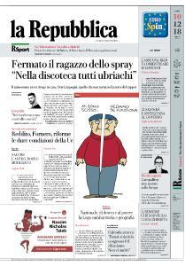 la Repubblica - 10 Dicembre 2018