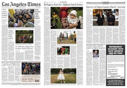 Los Angeles Times – August 21, 2021
