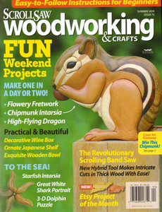 ScrollSaw Woodworking & Crafts - Summer 2019
