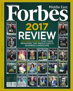 Forbes Middle East English Edition - January 2018