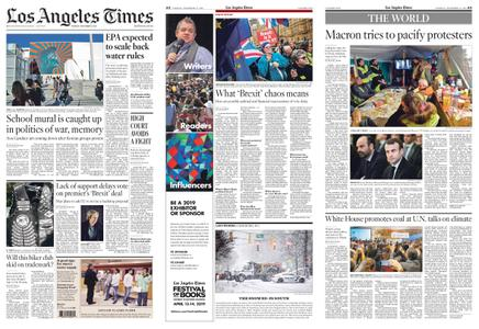 Los Angeles Times – December 11, 2018