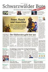 Schwarzwälder Bote Blumberg - 01. April 2019