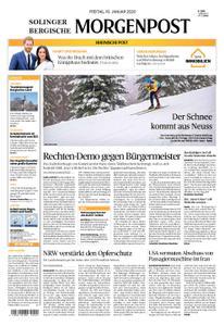 Solinger Morgenpost – 10. Januar 2020