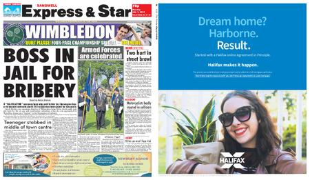 Express and Star Sandwell Edition – July 01, 2019