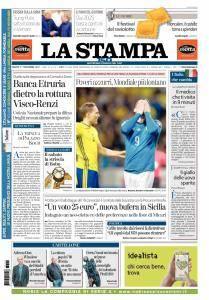 La Stampa Torino Provincia e Canavese - 11 Novembre 2017