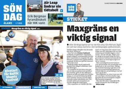 Ålandstidningen – 01 juli 2018