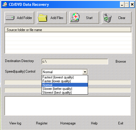 Portable CD/DVD Data Recovery