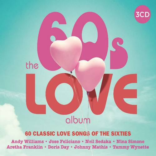 VA - The 60s Love Album (3CD, 2017)