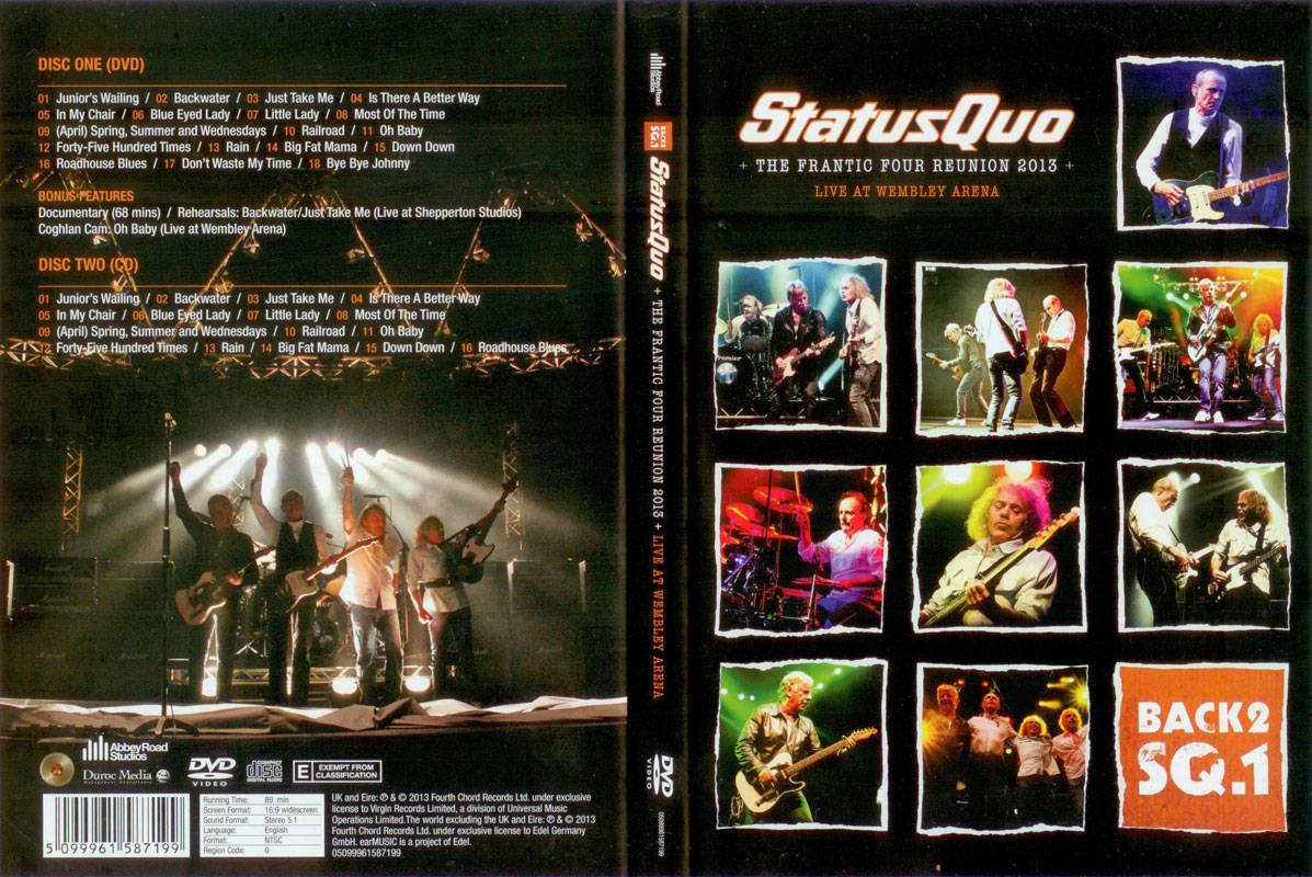 Status Quo - The Frantic Four Reunion: Live At Wembley Arena (2013)