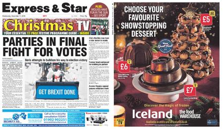Express and Star City Edition – December 11, 2019