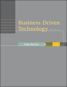 Business Driven Technology [Repost]