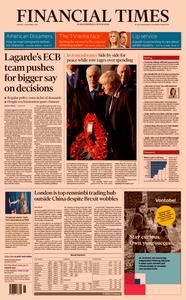 Financial Times UK – 11 November 2019
