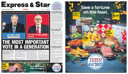 Express and Star Sandwell Edition – December 12, 2019