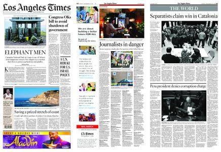 Los Angeles Times – December 22, 2017