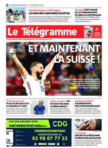 Le Télégramme Landerneau - Lesneven – 24 juin 2021