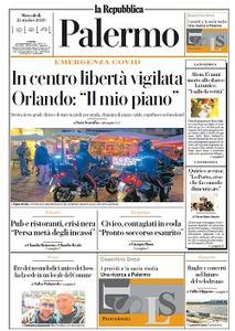 la Repubblica Palermo - 21 Ottobre 2020