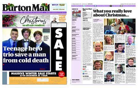 Burton Mail – December 23, 2017