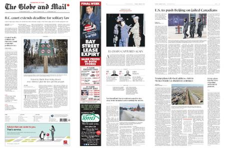 The Globe and Mail – January 08, 2019
