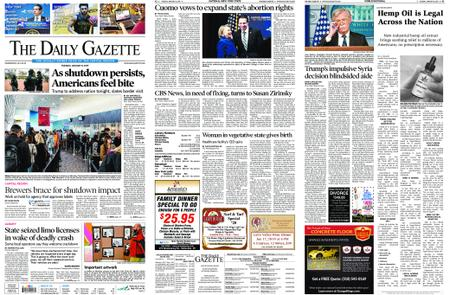 The Daily Gazette – January 08, 2019
