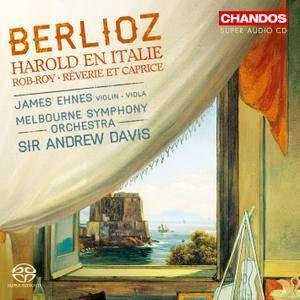 James Ehnes, Melbourne SO, Sir Andrew Davis - Hector Berlioz: Harold en Italie; Rob-Roy; Reverie et Caprice (2015)