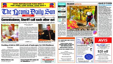 The Laconia Daily Sun – October 22, 2020