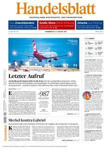 Handelsblatt - 11. August 2016
